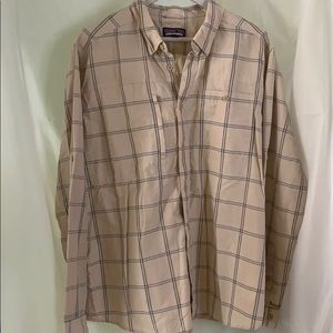 EUC Patagonia long Sleeve Button Up- Large